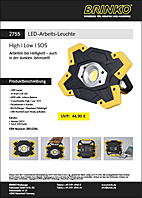 New products sheet, work lamp 2018 (pdf, 1.1 MB)