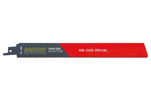 Sabre saw blade HM GUSS SPECIAL