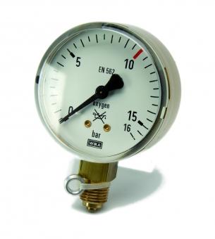 Arbeitsmanometer | Sauerstoff