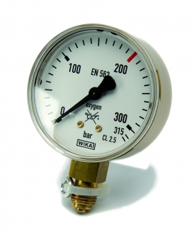 Inhaltsmanometer | Sauerstoff