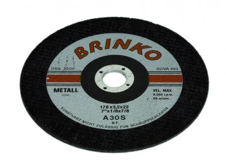 Trennscheibe | Stahl Ø 115 mm, gekröpft