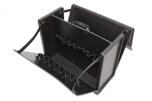 Rindsleder & ABS Werkzeugkoffer Premium