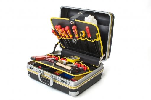 HDPE Werkzeugkoffer | Elektro CLASSIC