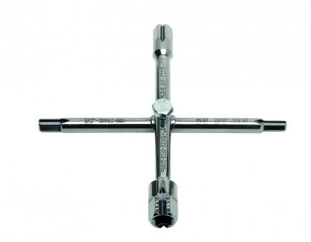 Сантехнический крестовой ключ