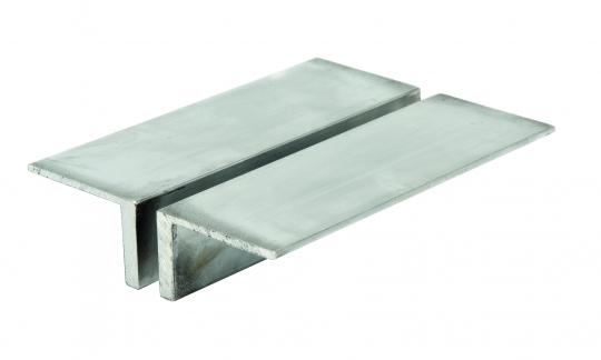 Aluminium-Auflegebacken